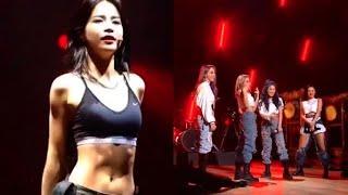 마마무 (Mamamoo) 솔라 (Solar) BTS (방탄소년단)  '불타오르네' (FIRE) - HD Fu…