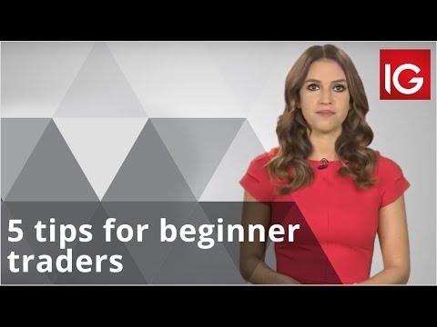 5 Tips For Beginner Traders