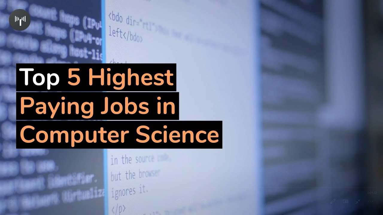 Top 5 Highest Paying Jobs in Computer Science