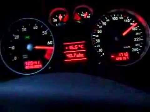 Audi TT 225PS 0-200km/h (ESP)