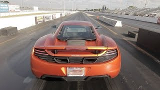 McLaren MP4-12C ALPHA Performance Tune - 10.1 @ 138 MPH Drag Racing 1/4 Mile w/ Launch Control