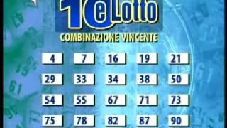 Lotto e Superenalotto estrazioni del 19 novembre 2011 (sabato) - www.zonalotto.it una puntata delle estrazioni del lotto (tagliata alla fine) andata