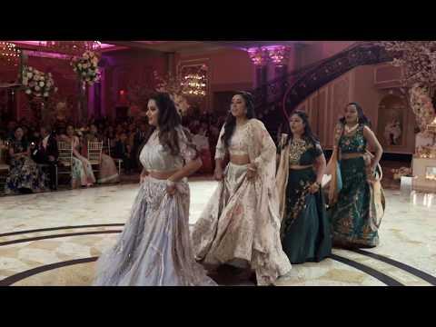 Bride's Wedding Dance for Groom at Reception