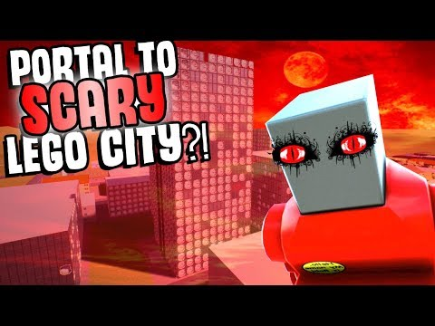 Opening A FORBIDDEN PORTAL To EVIL Lego City?! - Brick Rigs Gameplay Roleplay