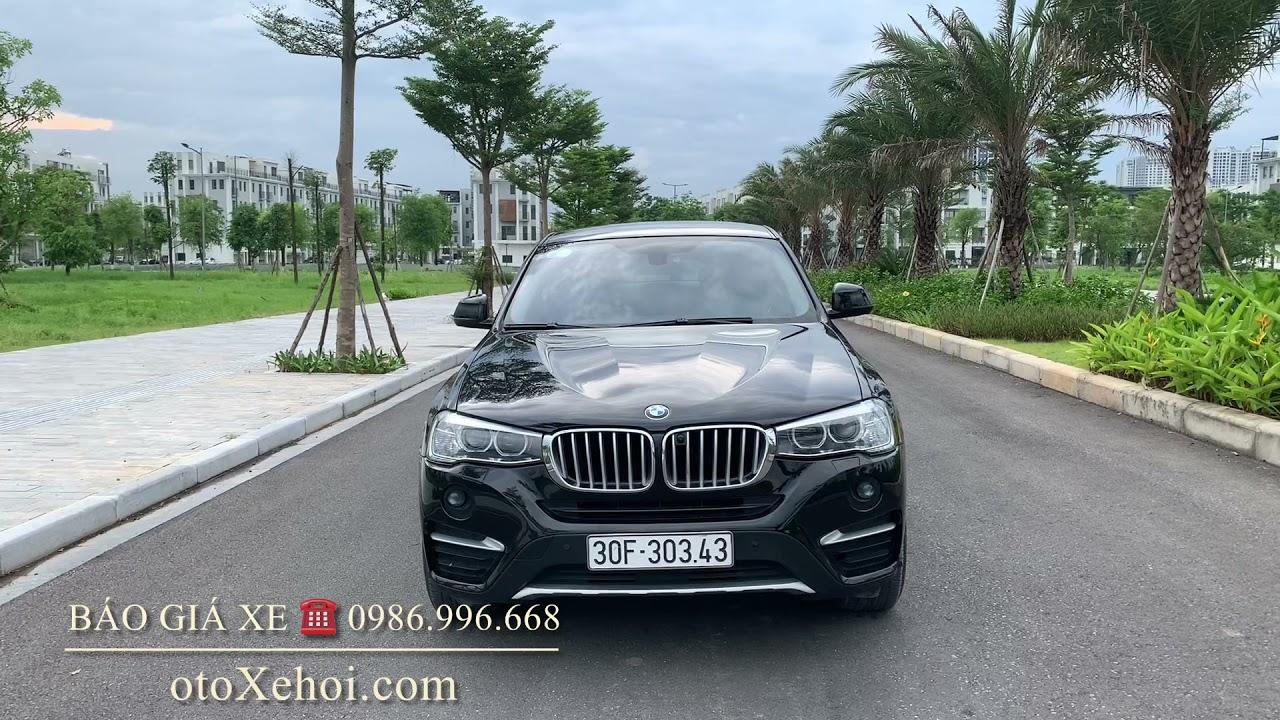Bán xe ô tô cũ nhập khẩu BMW X4 màu đen Siêu đẹp