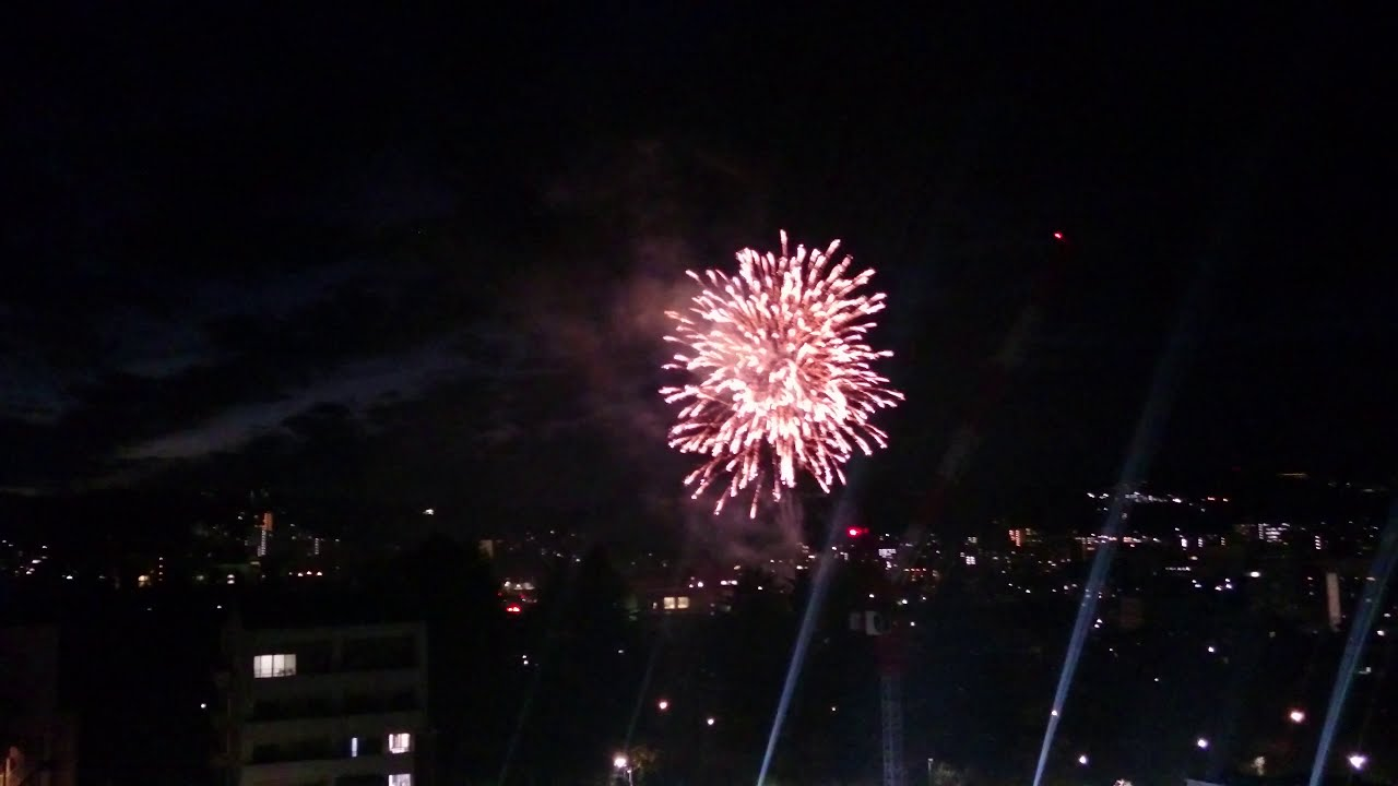 仙台二高創立120周年記念の花火②