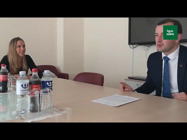 GYVAS MIŠKAS susitinka su Ekonomikos ir Inovacijos ministru Virginijumi Sinkevičiumi