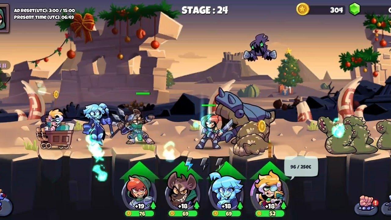 Band of Heroes  IDLE RPG Gameplay