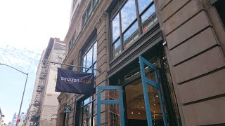 Amazon 4 Star store New York City NYC Walking in around - SOHO - Day 1 - Unedited