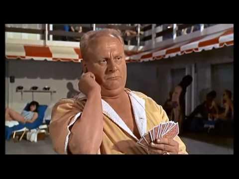 Goldfinger (1964) - Miami hotel pool scene