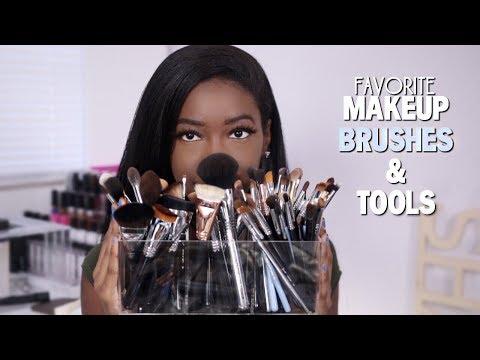 My Favorite Makeup Brushes & Tools