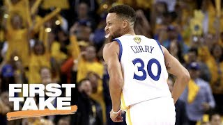 Is Steph Curry Making Up For Last Year's NBA Finals? | First Take | June 5, 2017