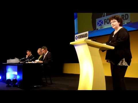 Elin Jones - SNP Conference speech / Araith i'r gynhadledd