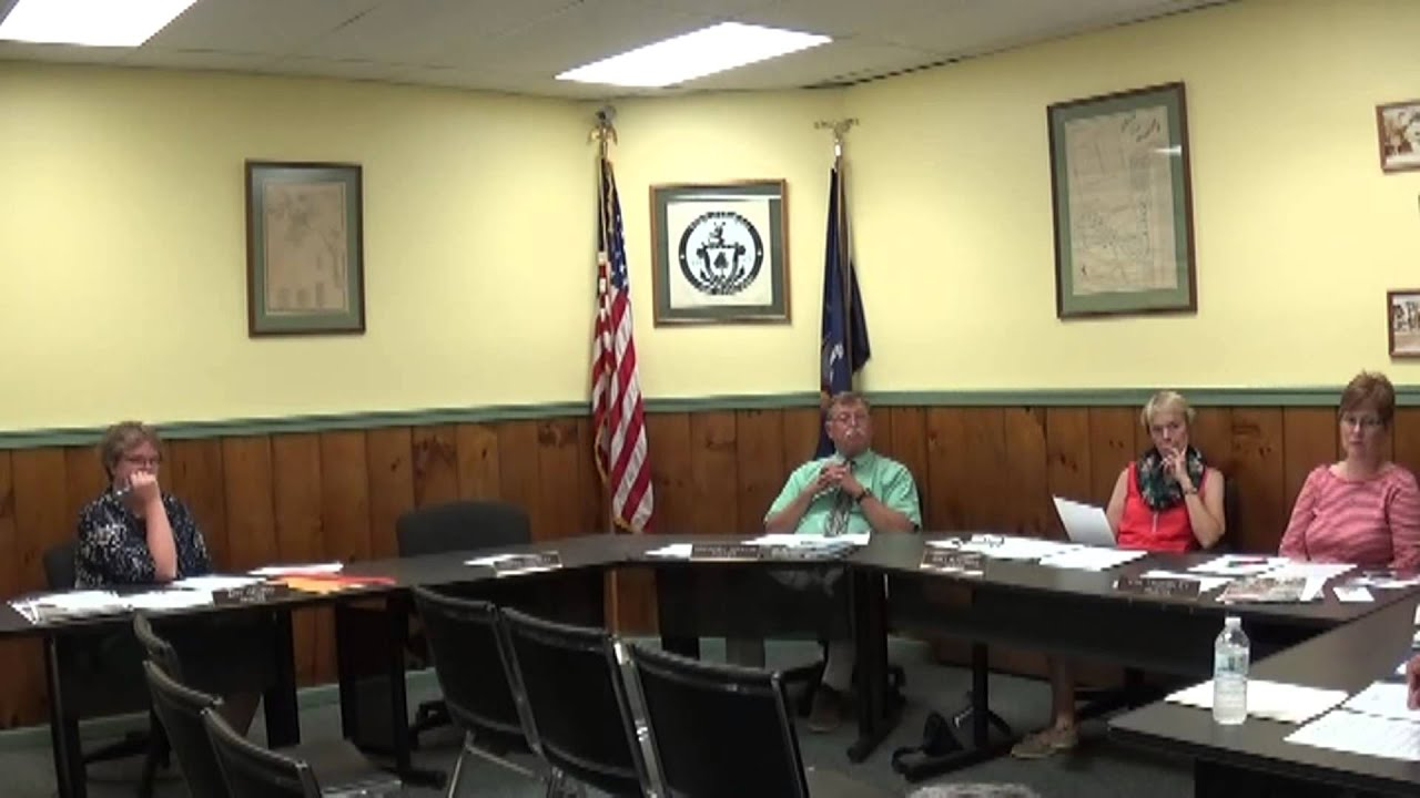 Champlain Village Board Meeting  8-10-15