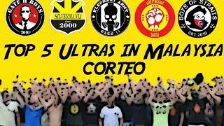 Top 5 Ultras In Malaysia Corteo