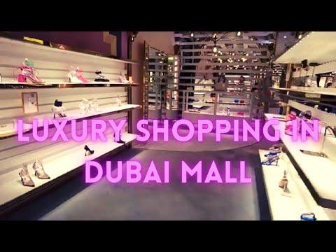 LUXURY SHOPPING IN DUBAI MALL | LEVEL SHOES | FASHION AVENUE