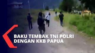 Begini Kronologi Baku Tembak TNI Polri dengan KKB di Ilaga Papua