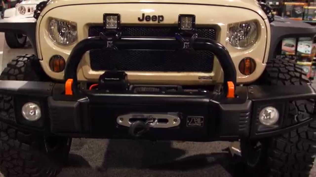 2014 SEMA Award - Hottest 4x4/SUV - Jeep Wrangler - YouTube