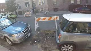 The struggle with a Con Edison pothole