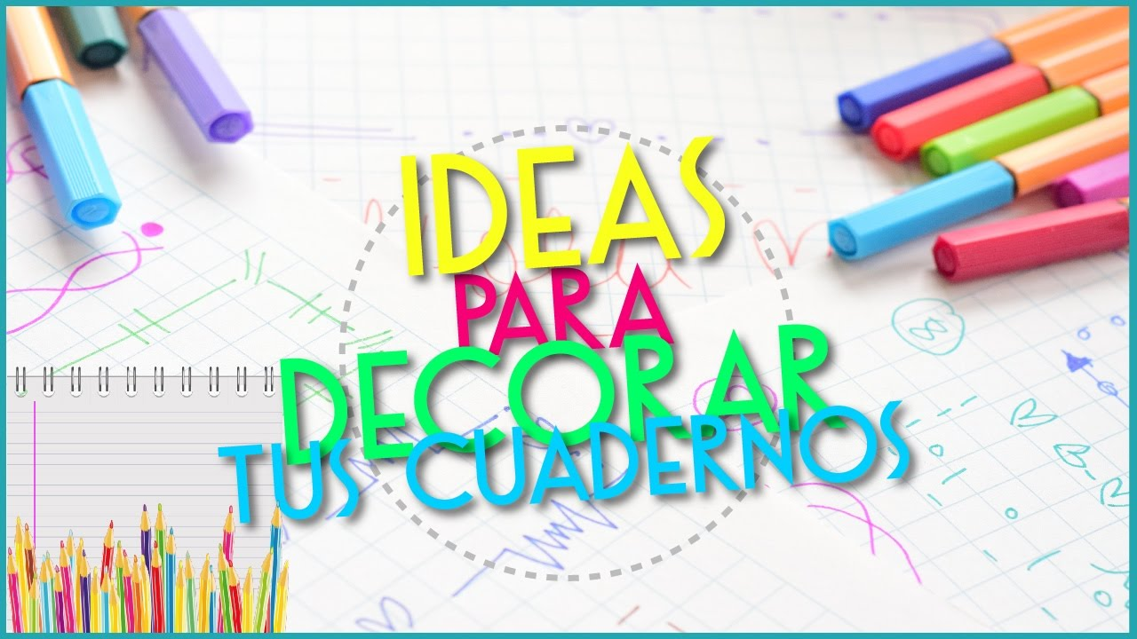 Ideas De MÁrgenes Para Decorar Cuadernos Y Libretas: Decora Tus Cuadernos! Ideas De Margenes Lindas!