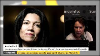Samia Ghali, maire des 15ème et 16ème arrondissements de #Marseille