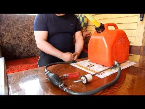 Топливный бак для ПЛМ из канистры