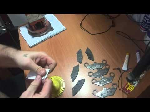 КлеИм тормозные колодки CF moto x6
