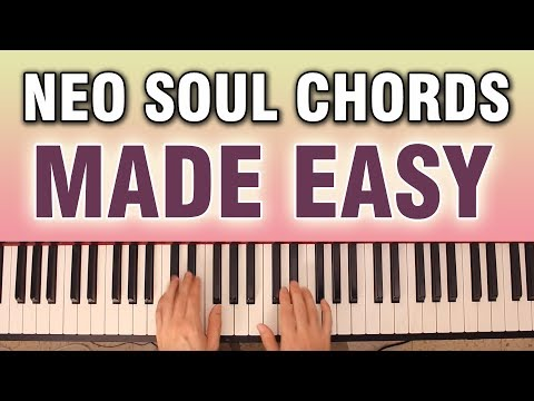 EASY Neo Soul Chords: A SIMPLE Example Of A Progression (with Full Voicings)