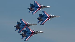 Russian Knights Power, Precison & Flat Spin - LIMA  2019