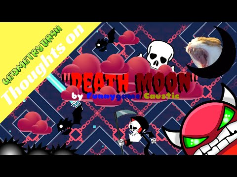 """Geometry Dash: My Thoughts on """"Death Moon"""" by Caustic/Funnygame"""