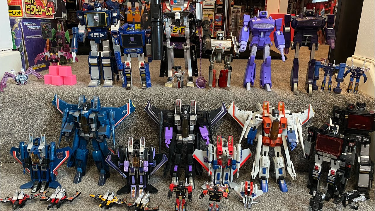 First Edition Decepticon Masterpieces Compared with G1 Originals
