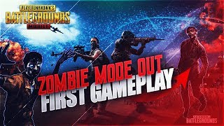 ZOMBIE MODE IS OUT ! FIRST GAMEPLAY ! PUBG MOBILE BETA 0.11