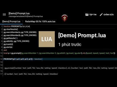 Test File [Demo] Prompt.lua GameGuardian Script