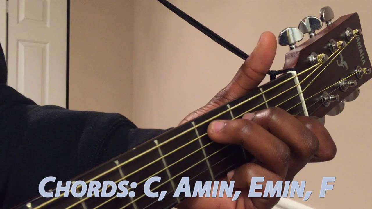 Kid Cudi   Pursuit of Happiness Guitar Lesson