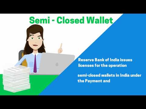 License to Operate Semi Closed Wallet