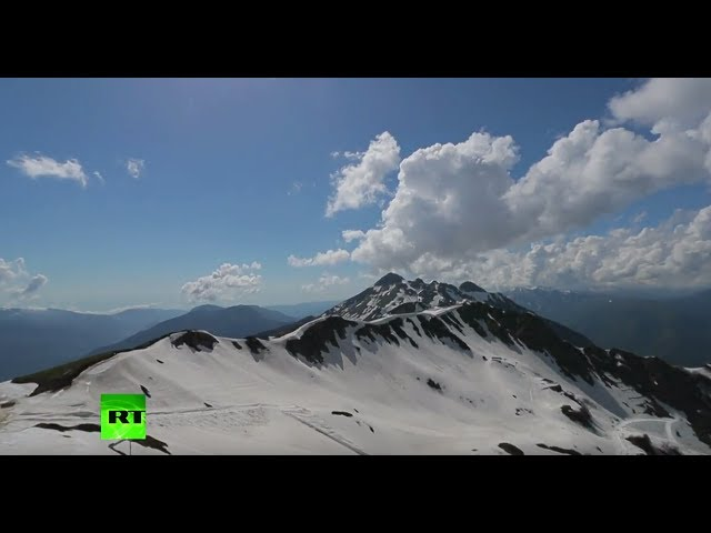 Football, beach & mountains: Sochi welcomes fans to Confed Cup