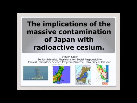 The Implications of Massive Radiation Contamination of Japan with Radioactive Cesium