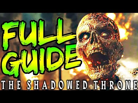 """FULL """"THE SHADOWED THRONE"""" EASTER EGG GUIDE & BOSS FIGHT TUTORIAL 