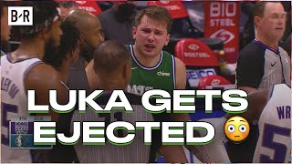 Luka Doncic Couldn't Believe He Got Ejected