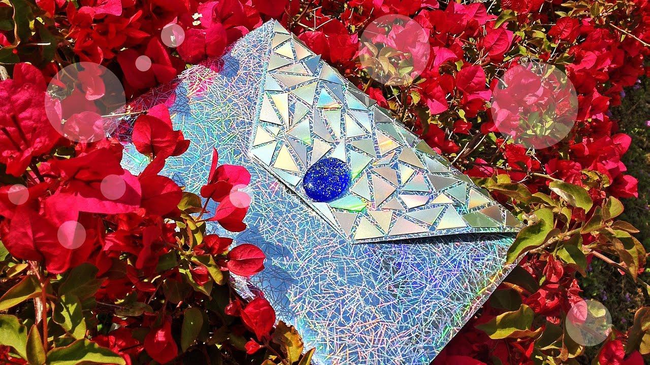 Diy hologram cd clutch proenza youtube solutioingenieria Choice Image