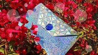 DIY Hologram CD Clutch {Proenza}