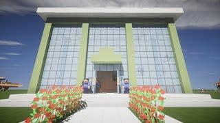 СТРОИМ СБЕРБАНК В МАЙНКРАФТ - Как построить БАНК в minecraft #Майнкрафт