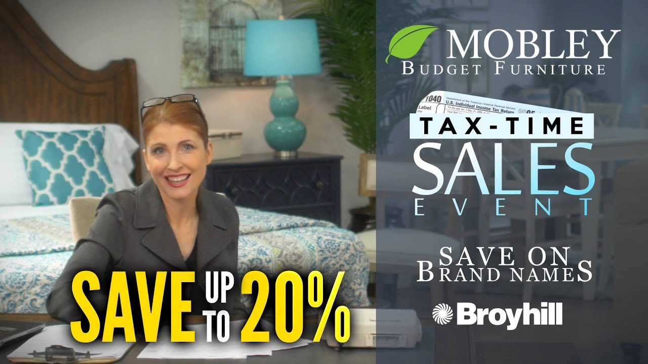 Mobley Furniture Outlet: Tax Time Sales Event