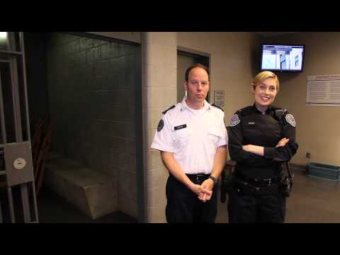 Matt Gordon & Charlotte Sullivan on set of Rookie Blue season 6