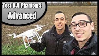 TEST DRONE DJI PHANTOM 3 ADVANCED