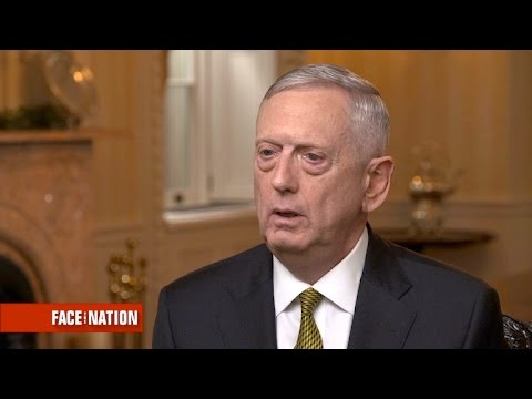 Defense Secretary James Mattis on climate change, Paris accord