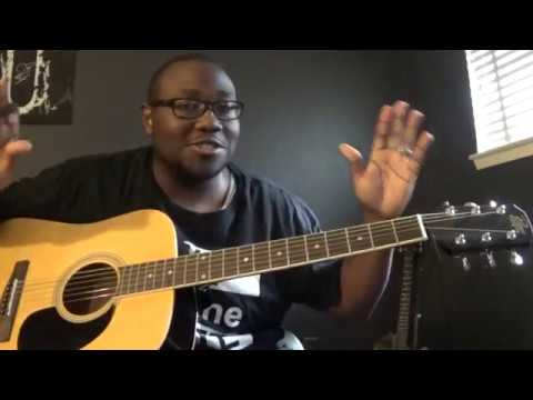How to play Victory Belongs to Jesus by Todd Dulaney on Guitar