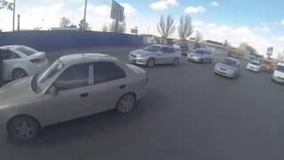 Машина которая гуляет сама по себе