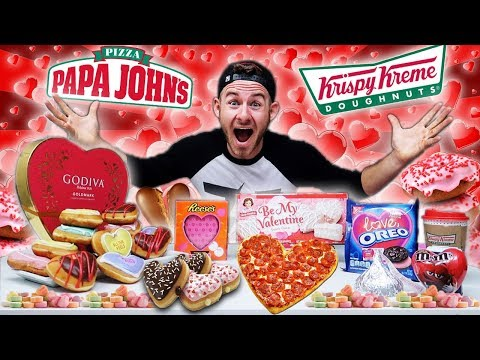 THE VALENTINES DAY FAST FOOD FEAST! (15,000+ CALORIES)