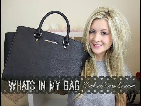 What's In My Bag #2 | Michael Kors Edition | Through Chelsea's Eyes